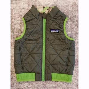 Reversible Patagonia Kids Vest Down Feather